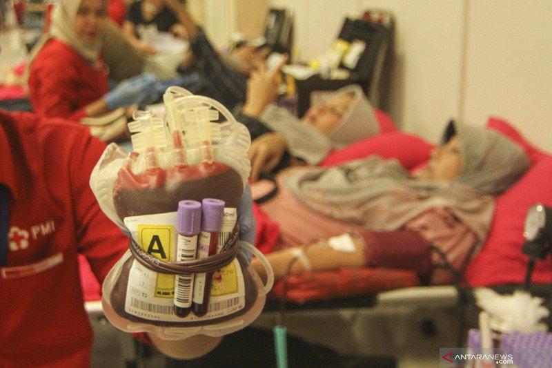 Kebutuhan darah di Palembang 5.000 kantong  per bulan