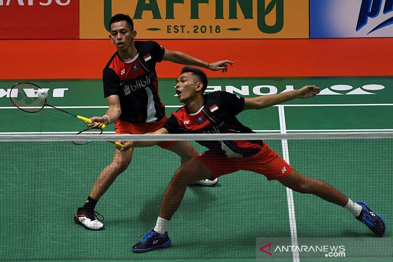 Fajar/Rian ke babak perempat final Indonesia Masters