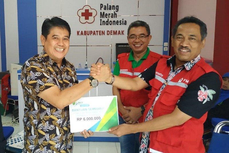 BPJAMSOSTEK bantu korban banjir Demak dan Grobogan