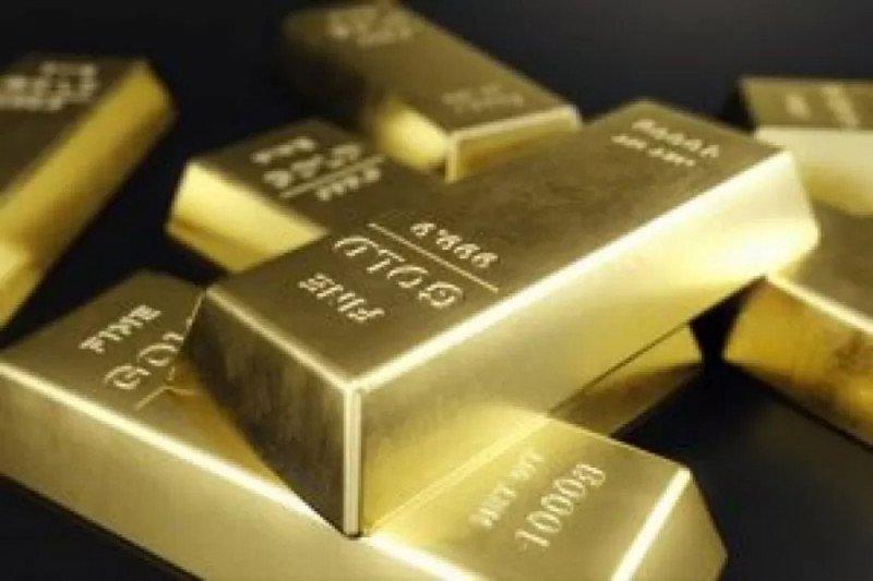 Data ekonomi Amerika kuat, harga emas diperdagangkan di kisaran ketat