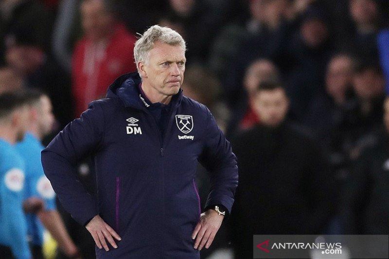 Moyes harapkan keberuntungan saat West Ham tantang Liverpool