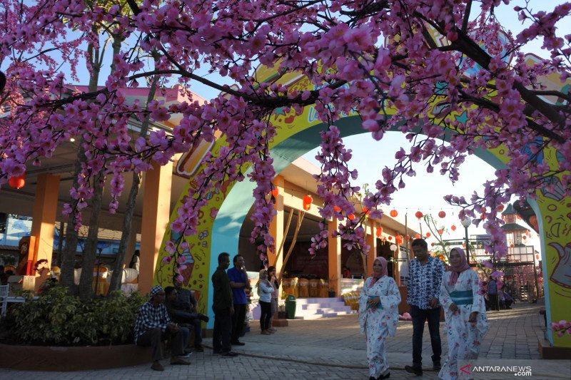 Destinasi wisata bernuansa Jepang
