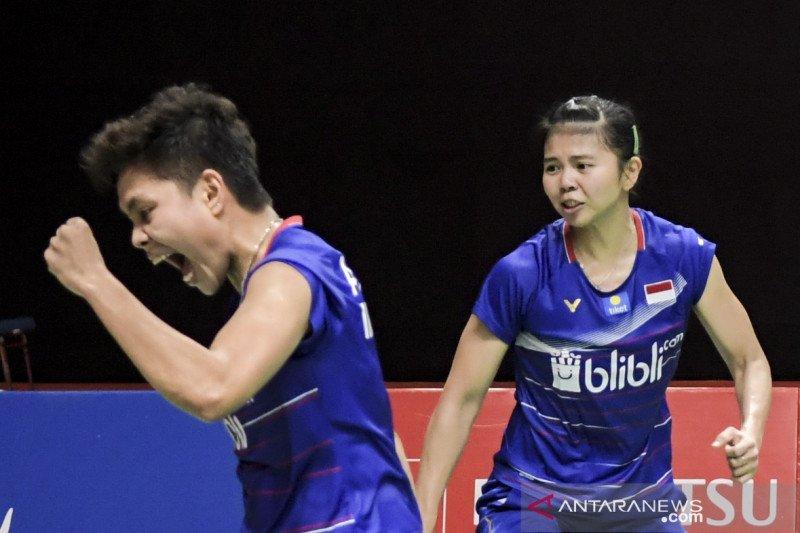 Greysia/Apriyani melaju ke babak final usai kalahkan Kim/Kong