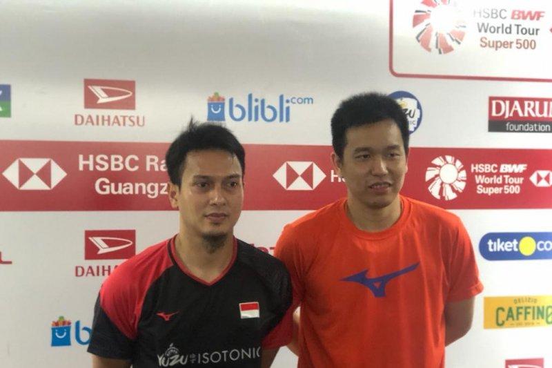 Taklukkan China Taipei, Hendra/Ahsan melaju ke semifinal Indonesia Masters
