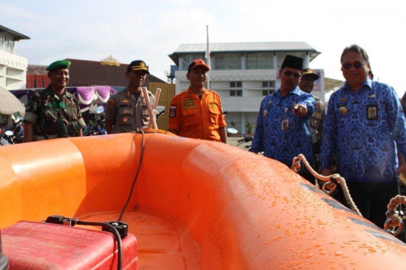 TNI- Polri dan Pemkab Waykanan gelar apel siaga bencana alam
