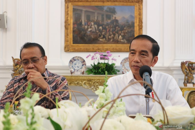 Jokowi akui Jiwasraya sakit sejak lama, beri waktu disembuhkan