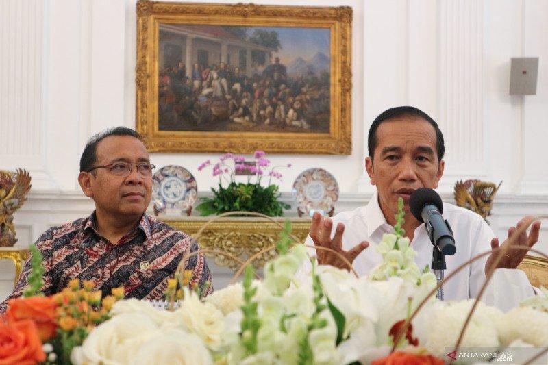 Presiden Jokowi: Rancangan undang-undang pemindahan ibu kota baru sudah rampung