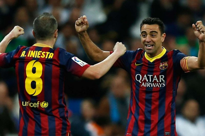 Iniesta ingin berpartner dengan Xavi bila latih Barcelona nanti