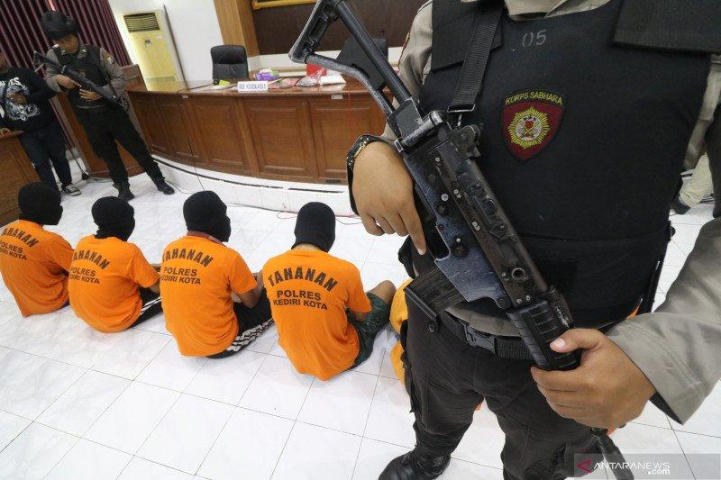 Rilis dua pekan kejahatan di Kediri