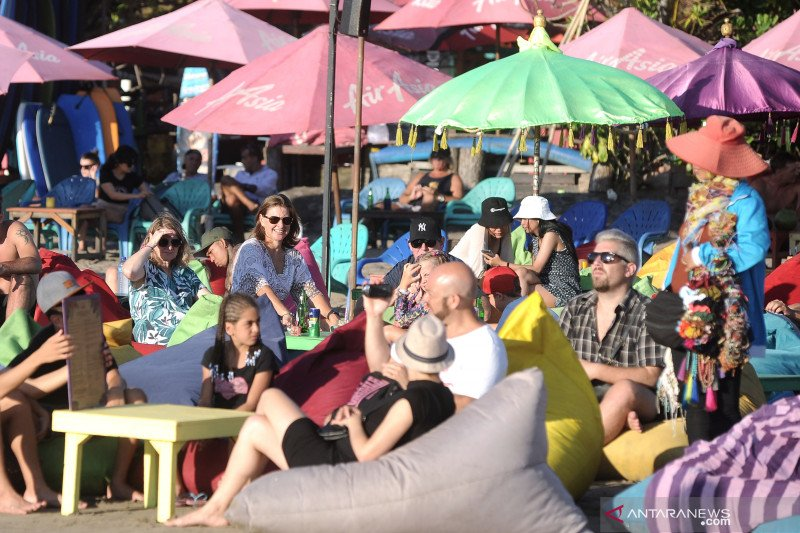 Badung target 6,2 juta kunjungan turis asing