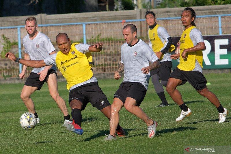 Bali United berlatih jelang menghadapi Melbourne Victory