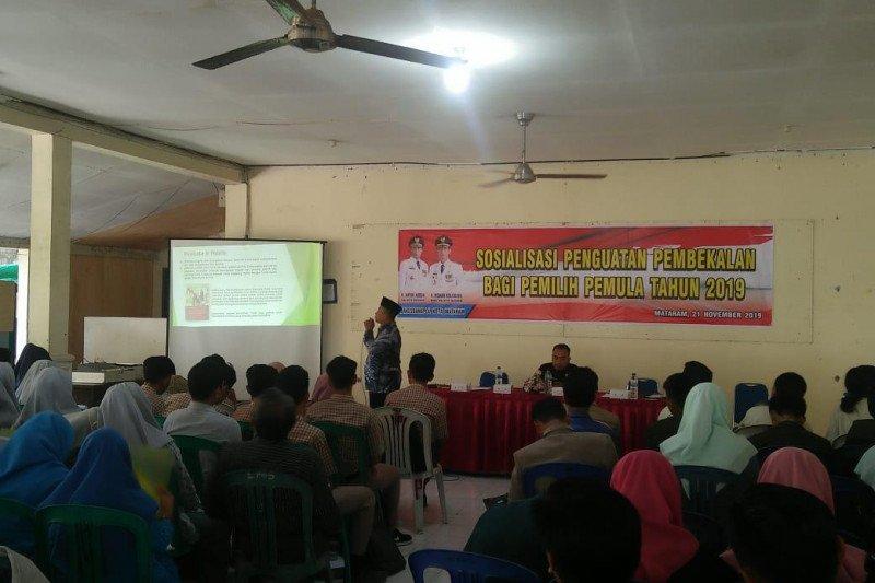 Bakesbangpol Mataram menyasar pemilih pemula sosialisasi pilkada