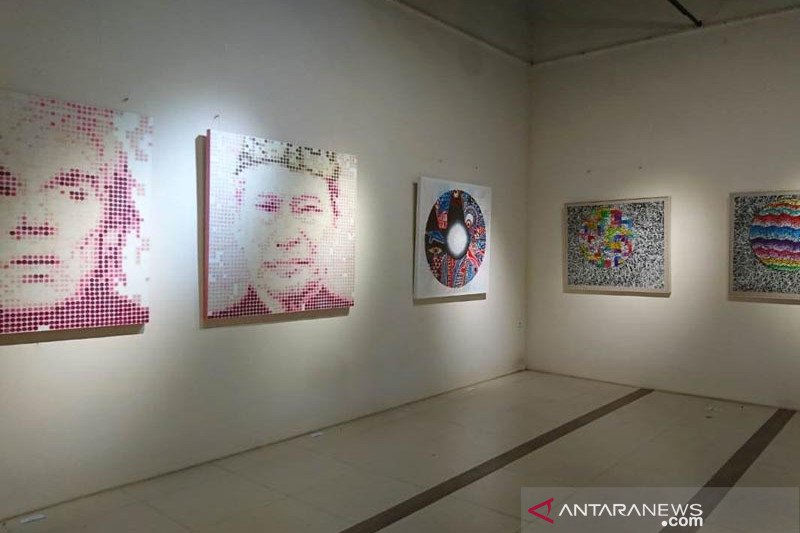 Delapan seniman Bali pamerkan karya di kawasan Borobudur