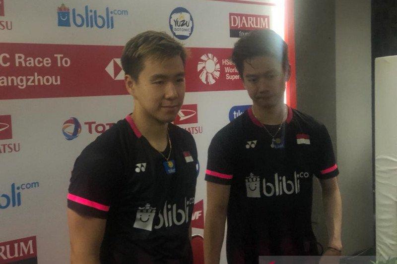 Final ganda putra Indonesia Masters kembali terulang tahun ini