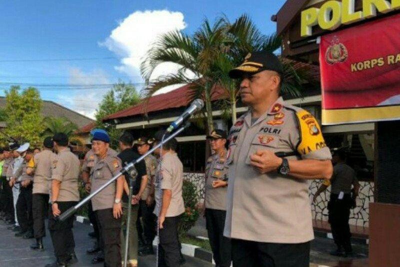Angka kriminalitas November-Desember 2019 di Sulbar tercatat 171 kasus