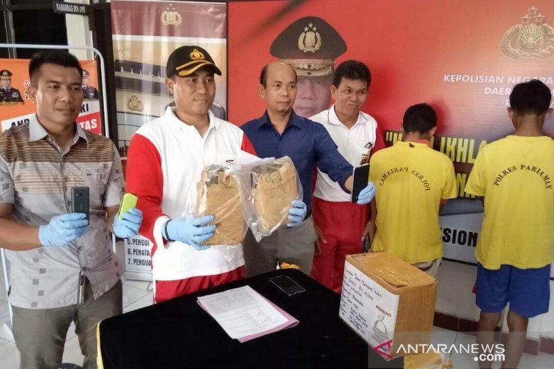 Dapat perintah dari dalam Lapas, kurir narkoba siap kirim ganja melalui jasa pengiriman
