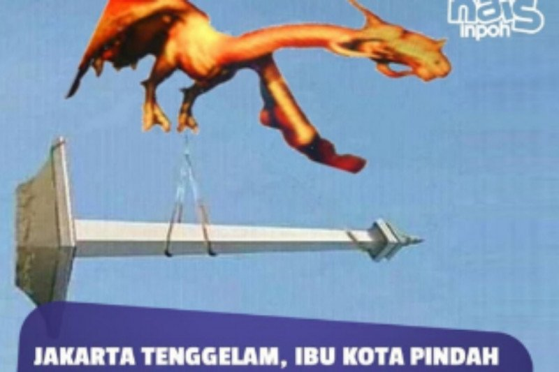 Prediksi Jakarta tenggelam 2050