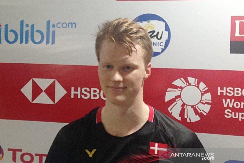 Antonsen tak sabar hadapi Ginting di final Indonesia Masters
