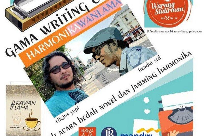 Diskusi literasi Gama Writing Club dapat dukungan BI dan Bank Mandiri