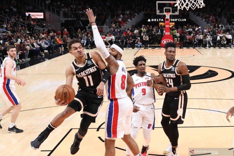NBA: Atlanta Hawks vs Detroit Pistons
