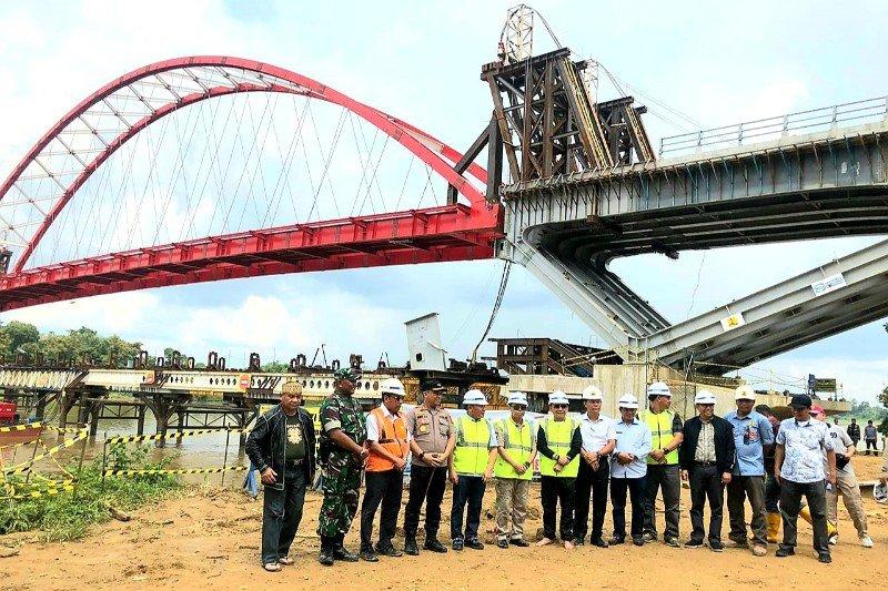 Gubernur sebut pembangunan Jembatan Tumbang Samba buka keterisolasian di Katingan