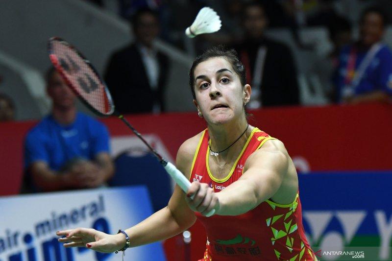 Carolina Marin tak akan tampil di Olimpiade Tokyo karena cedera