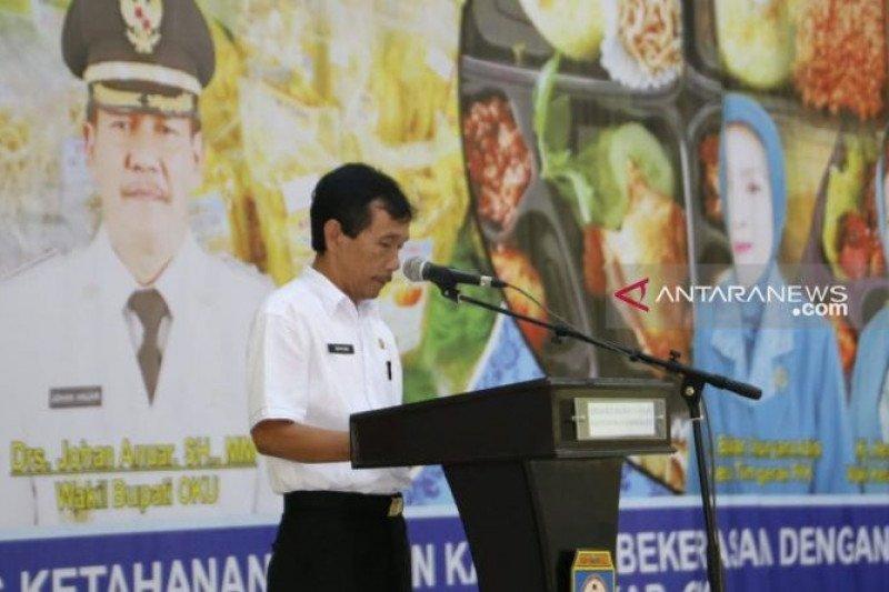 190 ton beras bantuan bencana alam disiapkan di Ogan Komering Ulu