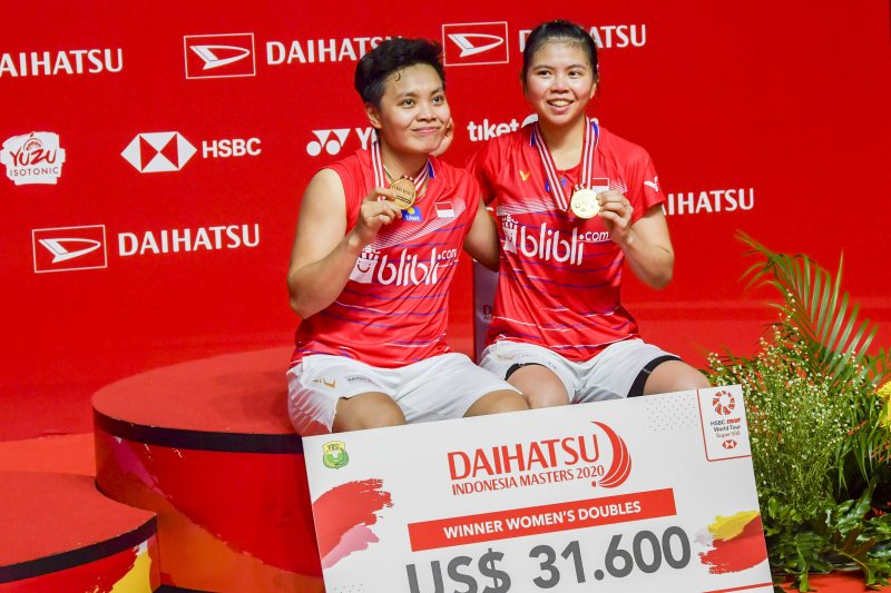 Pasangan Greysia/Apriyani tidak mau berpuas diri usai juarai Indonesia Masters
