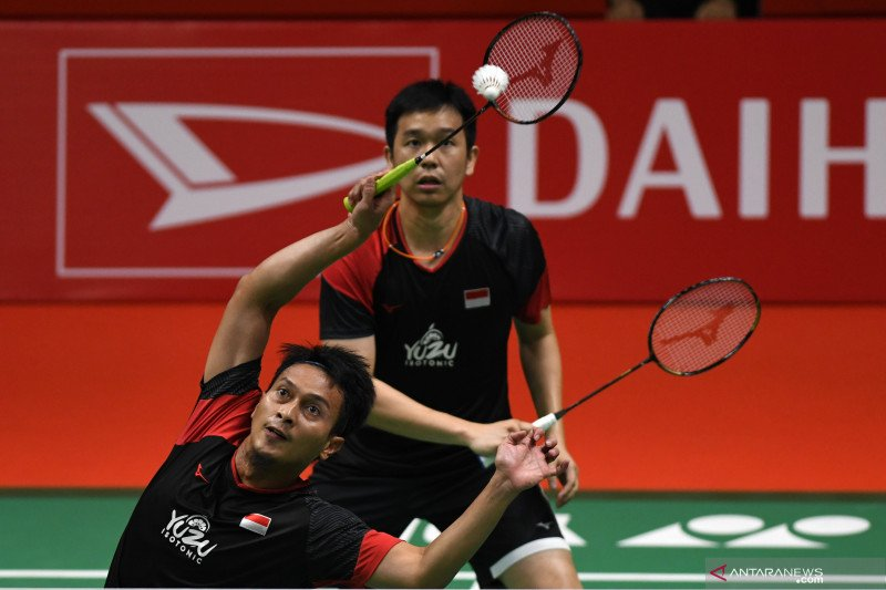 Hendra/Ahsan tetap mewaspadai pemain Thailand dan India di semifinal