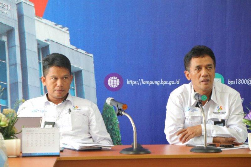 Jumlah penduduk miskin Lampung turun 12,62 persen