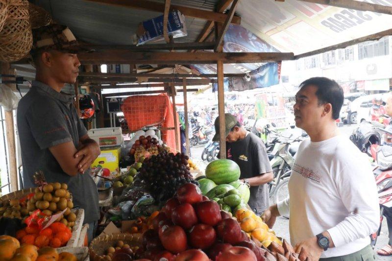 Rycko Menoza blusukan sapa warga Kota Bandarlampung