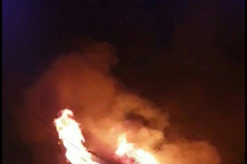 Kapolda Sulbar bantu pesantren Lampoko Polman yang terbakar