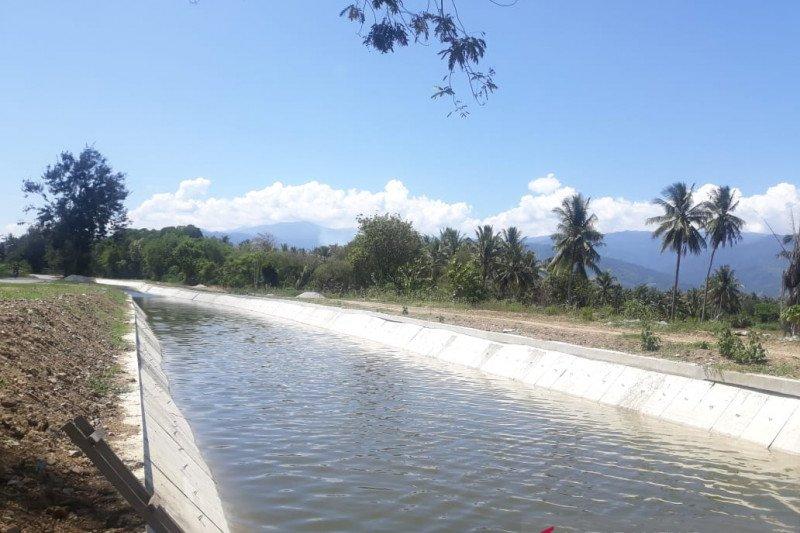 Bupati Sigi : Irigasi Gumbasa akan segera beroperasi