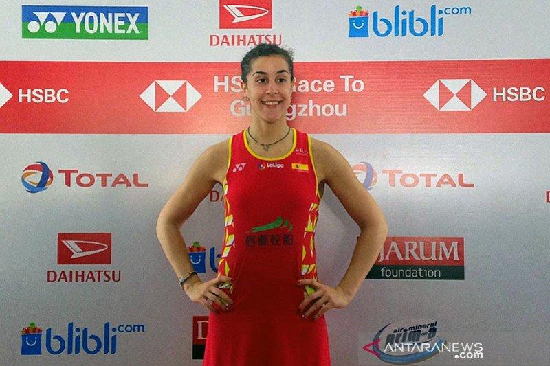 Carolina Marin: Saya harus banyak belajar dari Intanon