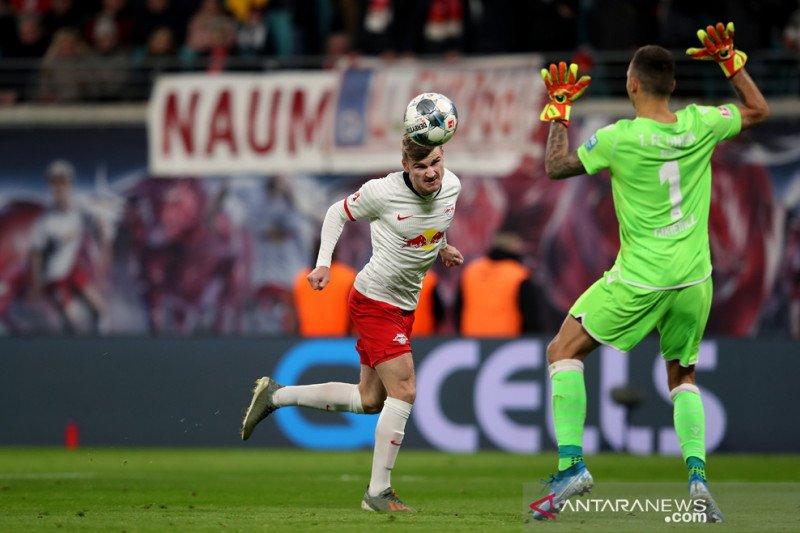 Hasil Liga Jerman: Leipzig kokoh di puncak unggul lima poin