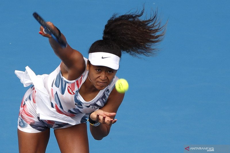 Osaka melaju ke putaran kedua Australian Open