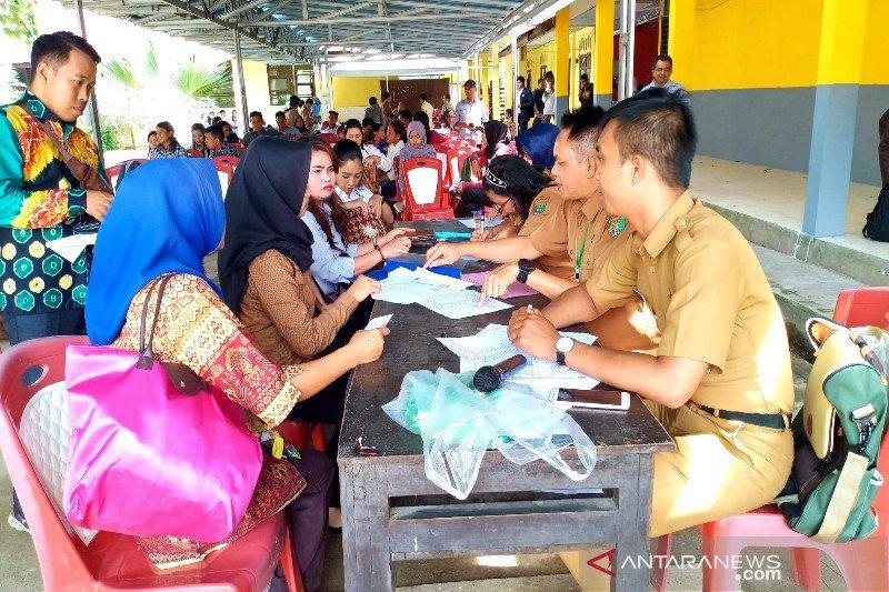 1.508 warga Barito Timur ikuti seleksi ujian perangkat desa