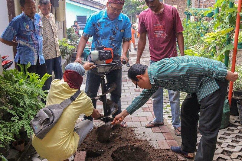 DLH Yogyakarta buat sumur resapan di sekolah dan fasilitas umum