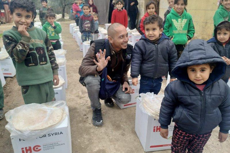 ACT tetap kirim bantuan untuk pengungsi Suriah saat musim dingin