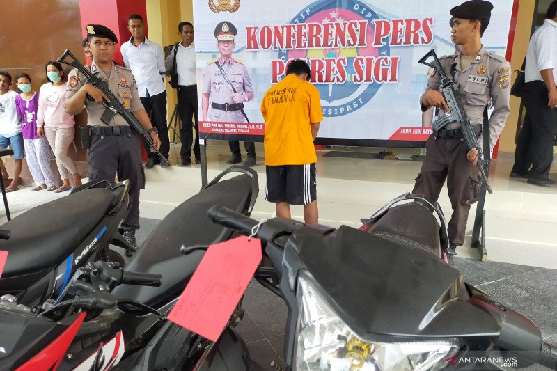 Polres Sigi ringkus pencuri mengaku anggota BNN