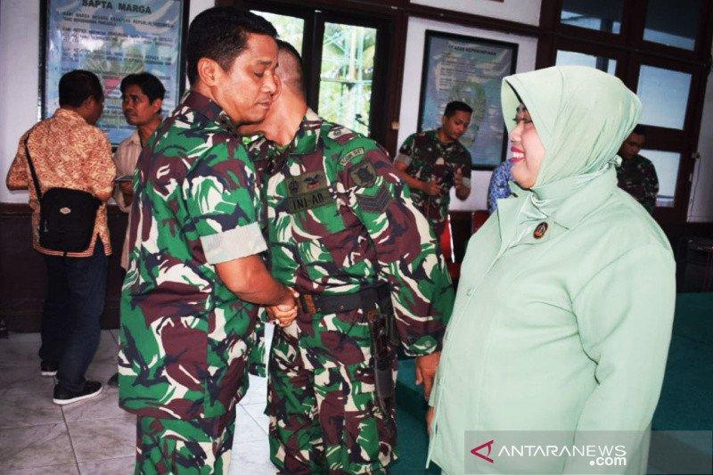 Kodim Banjarmasin lepas prajurit berangkat tugas teritorial ke Papua