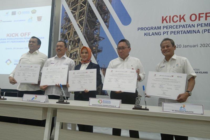 Pertamina: Kolaborasi BUMN pada pembangunan kilang bakal dongkrak TKDN