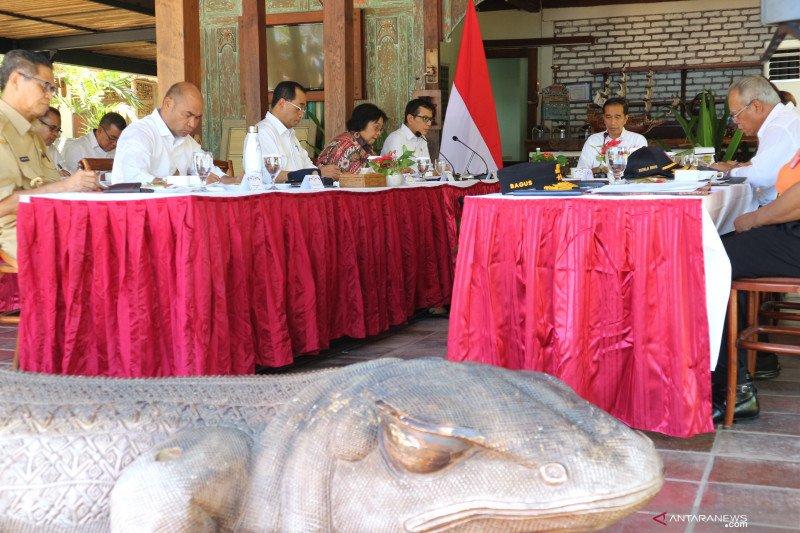 Presiden Jokowi persiapkan Labuan Bajo jadi destinasi wisata super premium