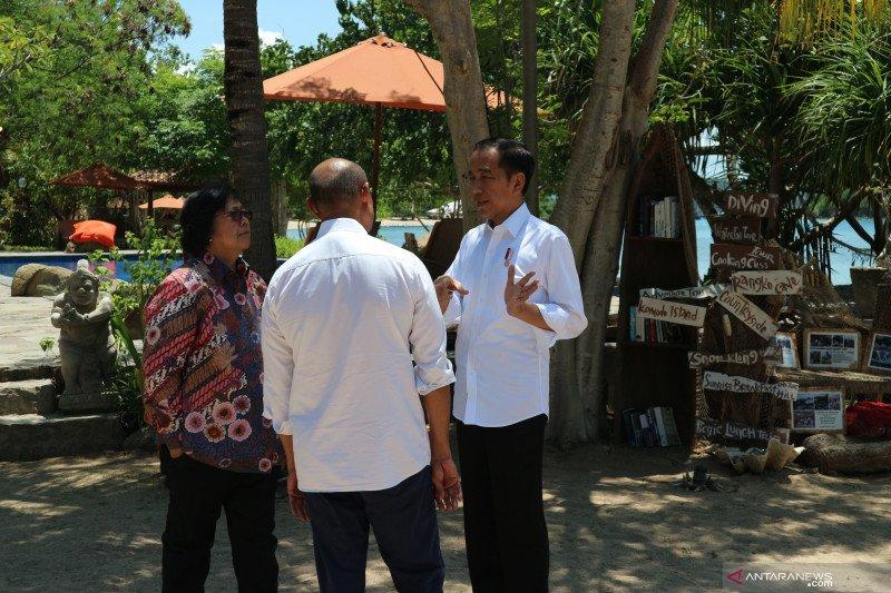 Presiden Jokowi ingin para turis tinggal lebih lama di Labuan Bajo