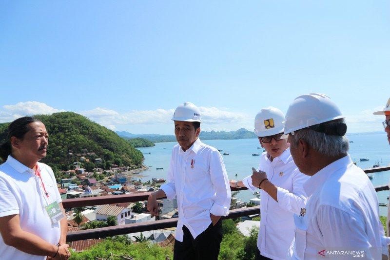 Presiden Jokowi soroti ketersediaan air bersih di Labuan Bajo