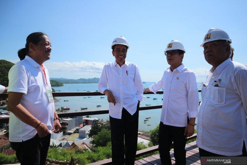Jokowi sebut pelabuhan wisata dan logistik di Labuan Bajo dipisah