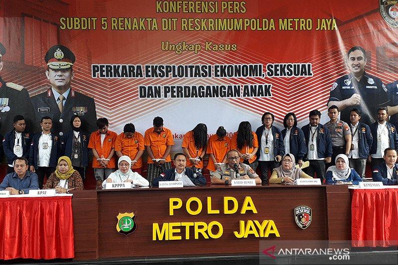 Polisi bongkar praktik prostitusi dan eksploitasi anak