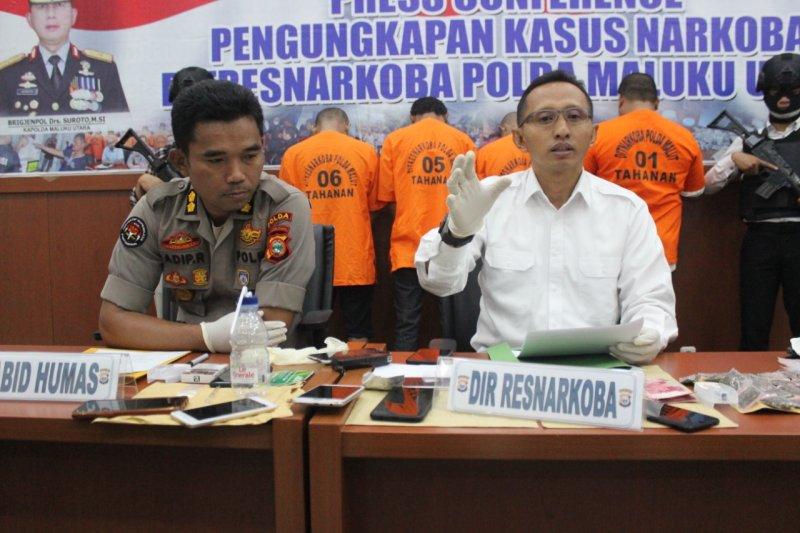 Polisi ciduk seorang PNS Disnaker Malut gunakan narkoba