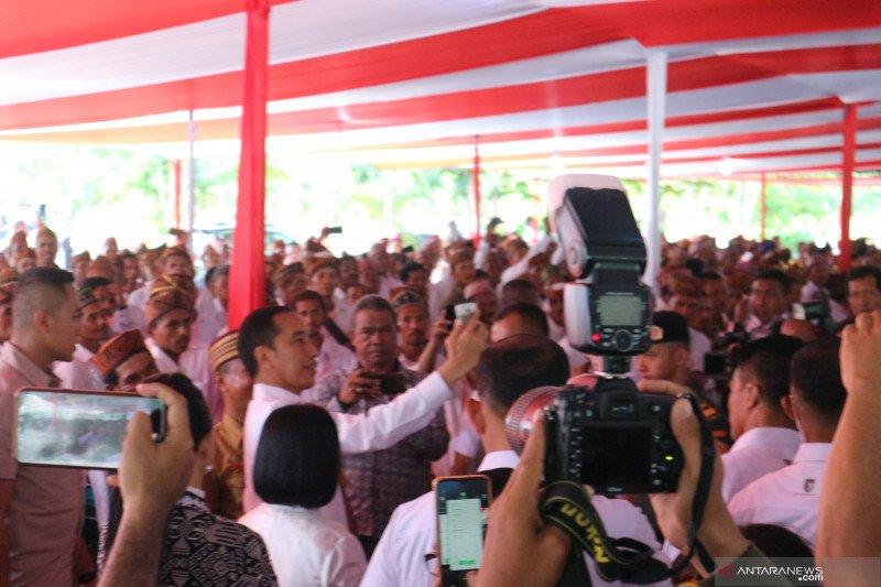 Presiden Jokowi merasa tidak