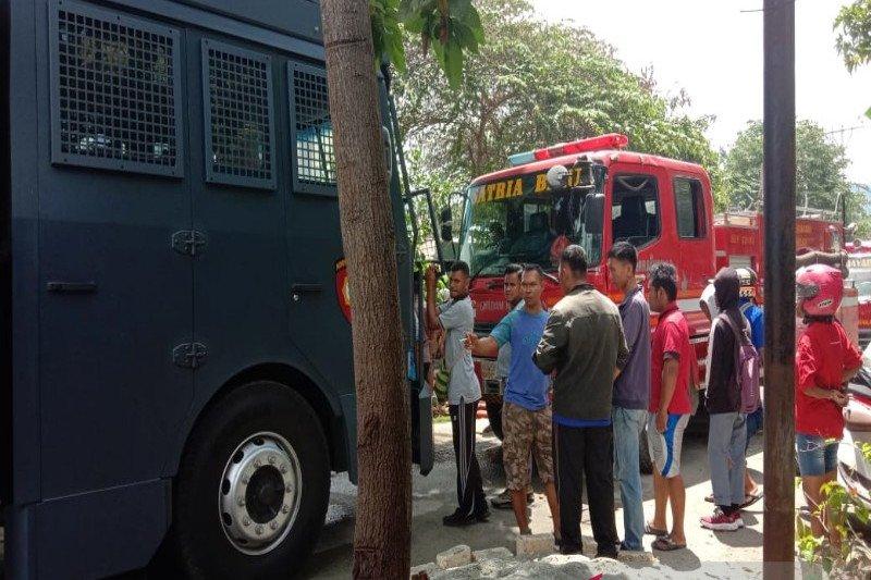 Kebakaran landa perumahan Bucen Kotaraja Jayapura